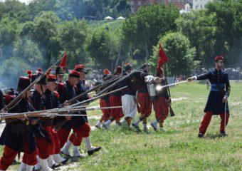 Подготовка к фестивалю «Оборона Таганрога 1855»