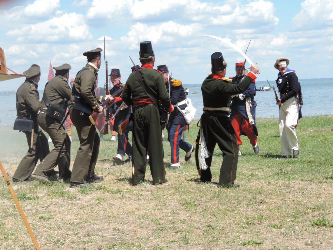 Фестиваль «Оборона Таганрога 1855 года» 28 мая 2017 года